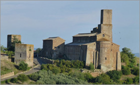 A view of Tuscania